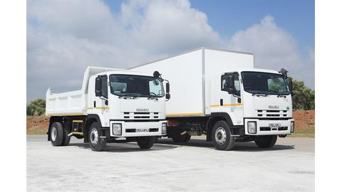 Isuzu continues to improve best-selling truck range
