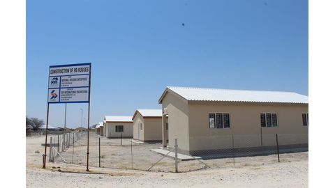 Oshakati makes housing progress