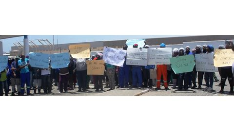 Managers unsettle factory workers
