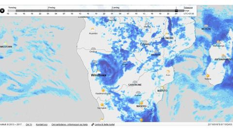Dineo weakens, moderate winds expected