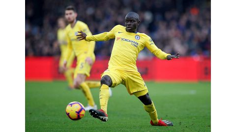 Kante growing into new role with Chelsea