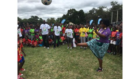 Zambezi welcomes Galz and Goals
