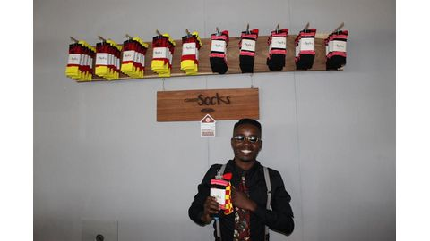 Gweri Vintage Socks goes commercial