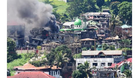 Maoist rebels in Philippines attack presidential guards
