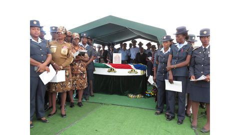 State funeral for Oshiko cop