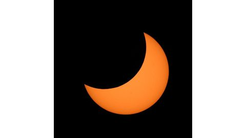 Solar eclipse on Sunday