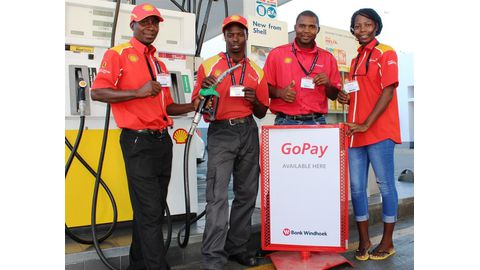 Pay for petrol with GoPay