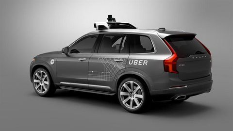 Volvo and Uber extend their partnership