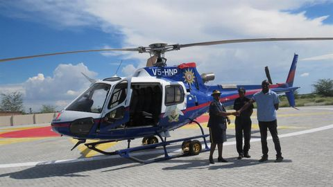 Northern police get a chopper