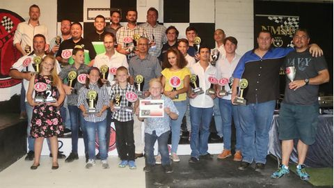 Top racers recognised