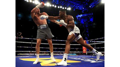 Controversy as Joshua retains world titles