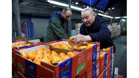 Annual inflation edges back