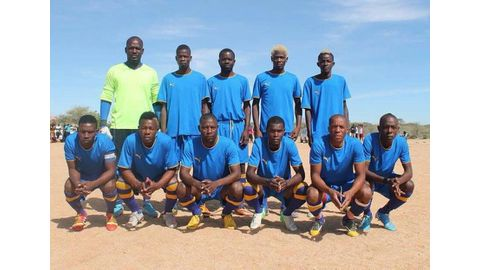 Village teams compete in charity games