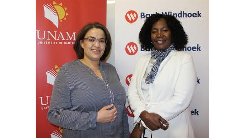 Bank supports Unam's charity golf day