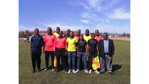 Fifa honours for local refs