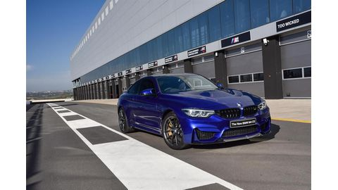 M4 CS launched at BMW M festival