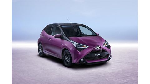 World debut for new Toyota Aygo