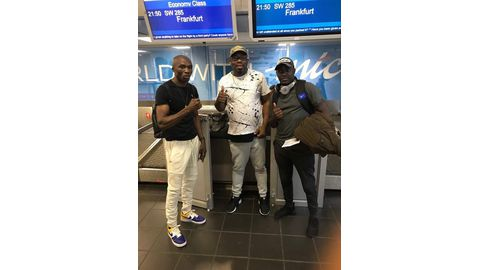 'Hitman' jets off to US