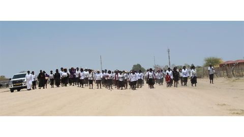 Mothers march against GBV