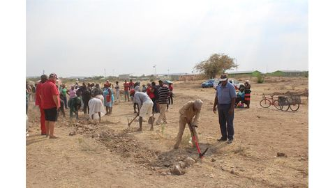 Outjo shack dwellers to build nearly 70 houses
