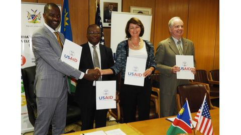 N$390m boost for HIV/Aids battle