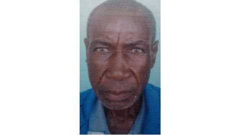 Pensioner missing for two months