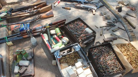 Surrender illegal weapons by Friday