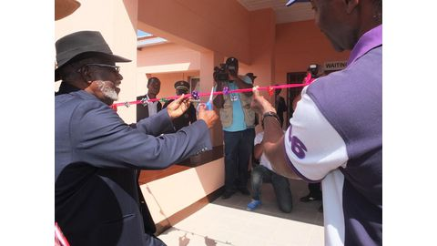 Nujoma clinic brings healthcare to hundreds