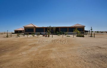 Swakop River Plot, Swakopmund:  10 Ha Plot with ENORMOUS HOME is for sale