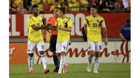 James keys Colombia's win over USA