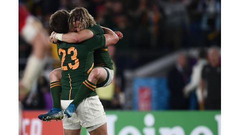 Springboks to meet England in final