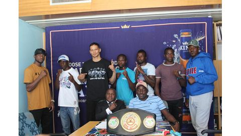 Jarmann promises knockout