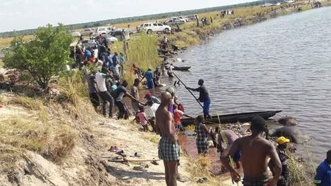 Bodies recovered from Orange River