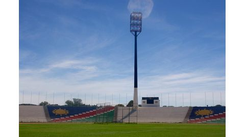 Independence Stadium without power