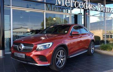 2017 Mercedes-Benz GLC250d Coupe DEMO
