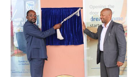 Standard Bank Namibia opens 59th branch