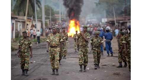 Thousands killed, detained in Burundi