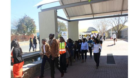 MVA Fund workers demonstrate