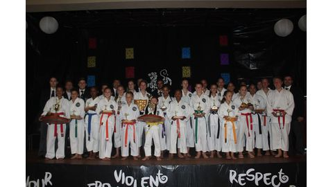 Shotokan awards karateka