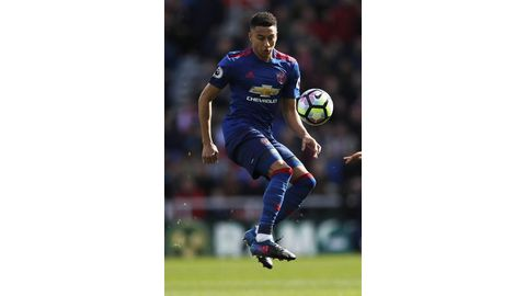 Lingard loves Old Trafford
