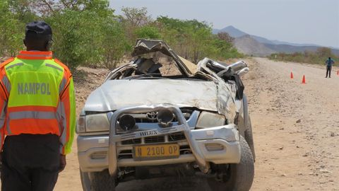 Two die in crash after governor's burial