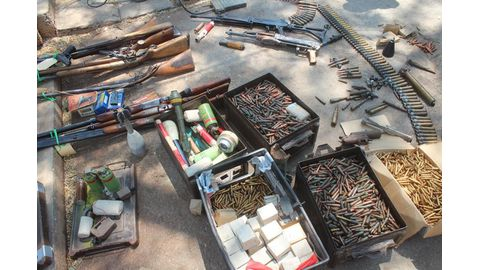 Many illegal weapons surrendered