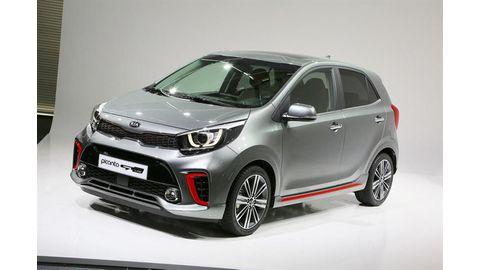 New Picanto arrives