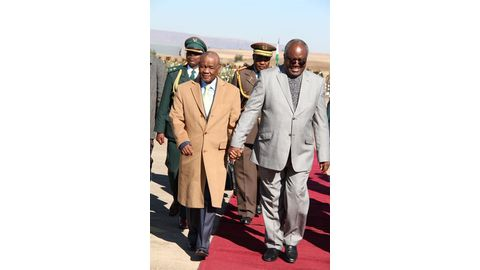 Lesotho PM-elect's wife shot dead
