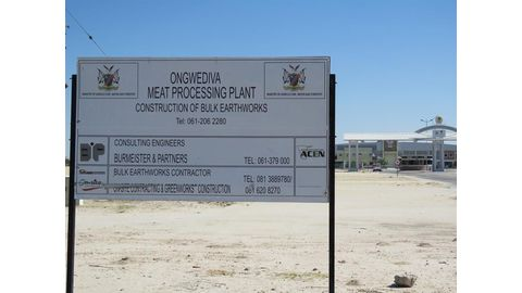 Ongwediva meat processing plant nears completion