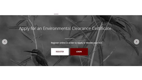 Environmental clearance now online