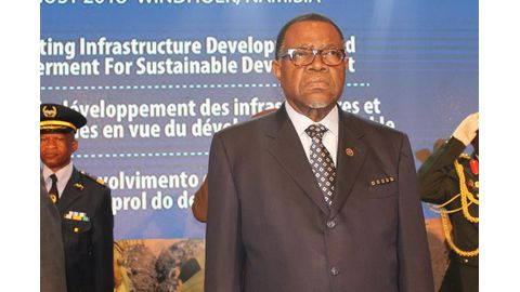 DRC at crossroads – Geingob