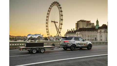 Land Rover on the trail of London's endangered rhinos