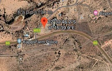 Industrial Land for Sale at Kapps Farm Windhoek