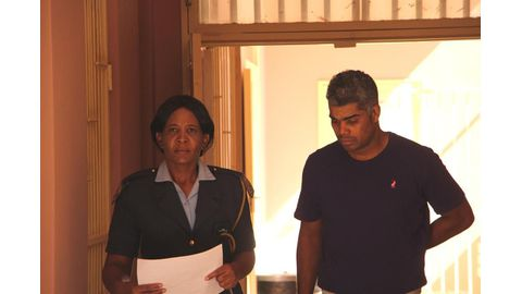 Thompson remanded in custody